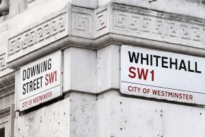 Downing Street Whitehall. London