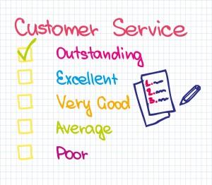 Customer service Ranking